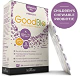Premium Chewable Probiotics for Kids - Children's Whole Body Health with Vitamins C & D3-5 Billion CFU - Promotes Digestive & Immune Health - Supports a Healthy Microbiome - Shelf-Stable
