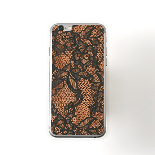 Lazerwood Lace Skin für Apple iPhone 6 schwarz
