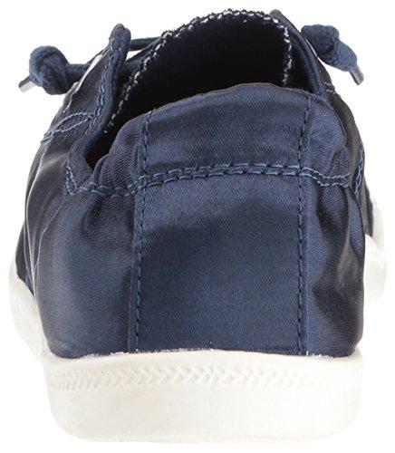 Madden Girl Frauen Baailey Fashion Sneaker Navy Satin