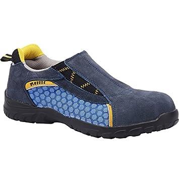 Paredes MAGNESIO AZUL PAREDES SP5014-AZ/47 - Zapato seguridad azul con elástico,
