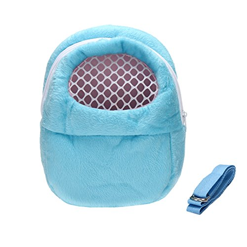Go Go Pet Hamster (DETOP Pet Carrier Bag Hamster Portable Breathable Outgoing Bag for Small pets like Hedgehog,Sugar Glider and Squirrel etc(Small))