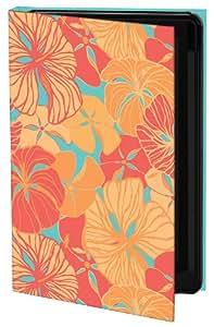 Keka Classic - Funda rígida para Samsung Galaxy S4 (diseño floral de Printed Hues, fijación a presión)