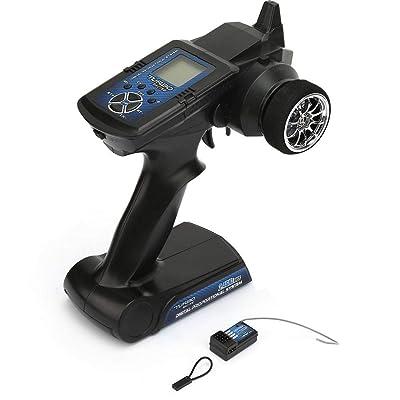 Woyisisi RC Transmisor Turbo TB-TX2 2.4G 7CH RC Camión LCD Control Remoto Transmisor Repuestos De Automóviles: Deportes y aire libre