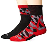 Adidas Youth Team Crew Socks (2-Pair)