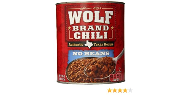 dd727211e9621 Amazon.com   Wolf Brand No Beans Chili