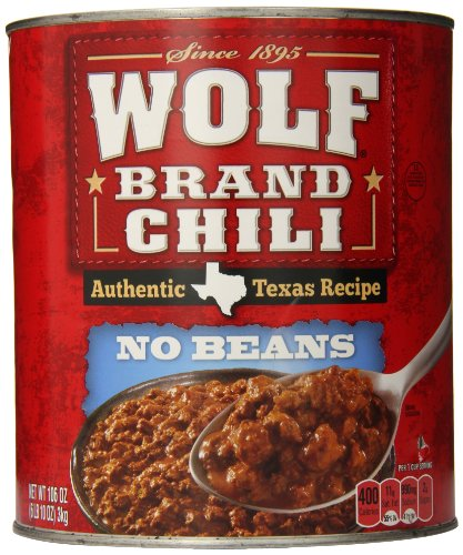 Wolf Brand No Beans Chili, 106 Ounce