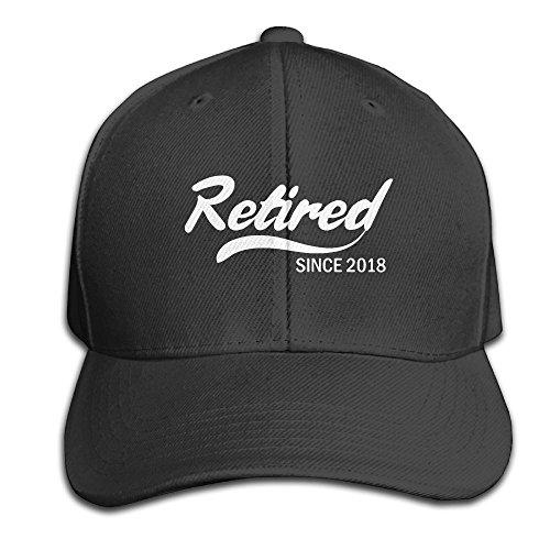 Retired Baseball - Retired Since 2018 Retirement Gift Idea Mens&Womens Classic Style Classic Trucker Hat Baseball Cap