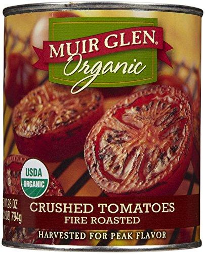 Muir Glen Organic Crushed Tomatoes - Fire Roasted - 28 oz - Fire Roasted Crushed Tomatoes