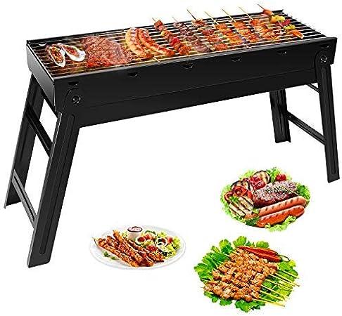 Femor Barbecue au Charbon de Bois sans Fumée, BBQ Portable