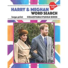 Harry & Meghan Word Search Large Print Collectable Puzzle Book: Royal Wedding Souvenir