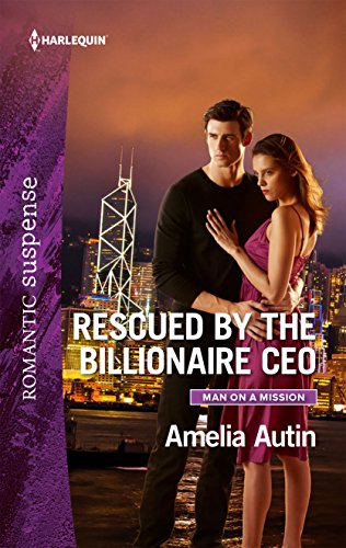 book cover of Rescued by the Billionaire CEO