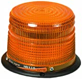 Checkers SL.310.LS.G Polycarbonate Heavy Duty Strobe Lights with 4.25'' Dome and 1'' NPT Pipe Mount with 12'' Pigtails, Green Lens, 4.4'' Height, 6.4'' Length, 6.4'' Width