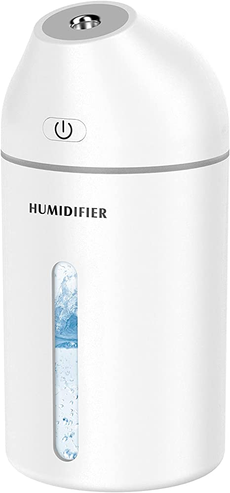 Cool mist for Desk Babyroom Personal Air Diffuser for Car WIMI 253 Mini-Can Shape Wireless Humidifier Blue 200ml USB Wireless Cordless Portable Humidifier with No Noise for Bedroom Office