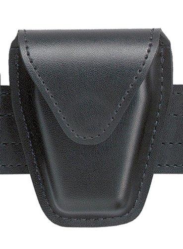 Safariland Duty Gear Hidden Snap Flap Top Handcuff Pouch (Plain Black)