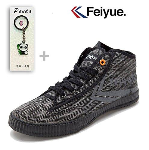 T.O.P Feiyue Hightop Zig-Zag Kongfu Shoes