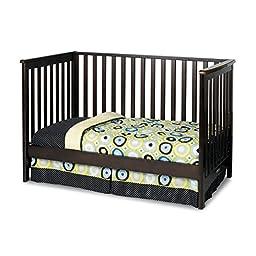 Childcraft London Euro Crib-Grey