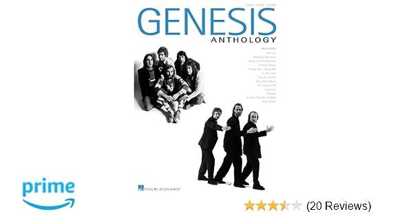 Vocal /& Guitar Sheet Music Artist Songbook Genesis Anthology Piano