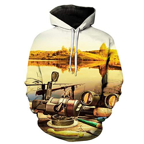 serie Femmes Lose 3d Hoodies Sweater Lxj Xxl Frauen Paar fisch Sweatshirts Große Pullover Kapuze Drucken Männer Hommes Mit Et Und X8Ynp