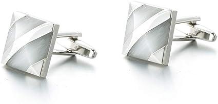Wangxiaoxia-Jewellery Gemelos para Hombres Camisa de Esmoquin ...