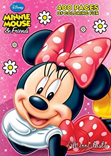 minnie mouse friends minni tastic 400 pages of coloring fun - Minnie Mouse Coloring Book