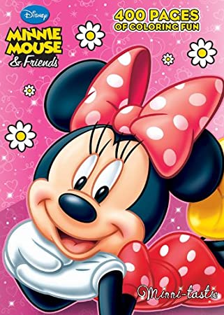 Minnie Mouse 400 Coloring Pages