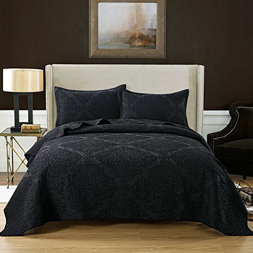 jacquard floral pattern bedspread quilt