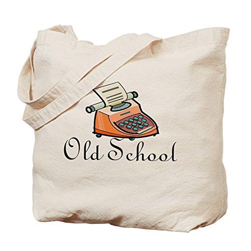 CafePress–Old School–Gamuza de bolsa de lona bolsa, bolsa de la compra