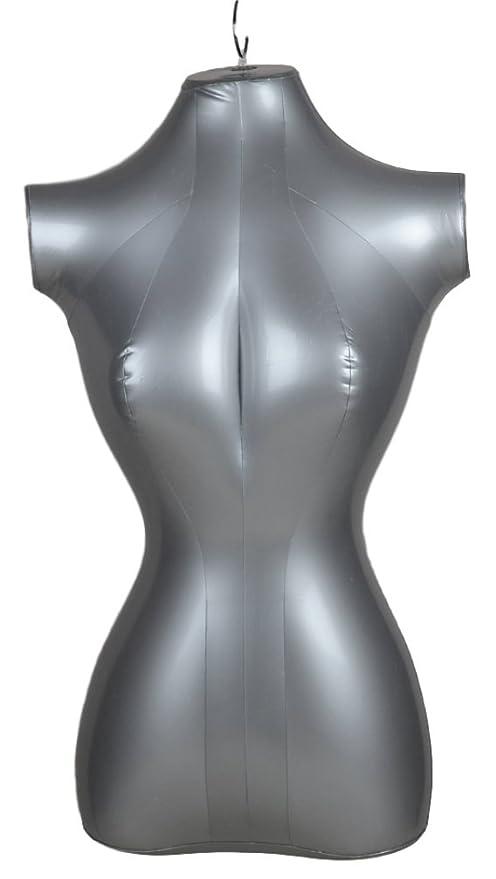Vestido inflable de media cadena, estilo torso, para mujer, modelo ...
