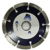 10-Pack DPT 4-1-2- Inch Diamond Saw Blade Segmented Dry for Cutting Granite, Concret, Light Weight Blocks, Bricks, Stone, and Masonry Materials, Super Plus Quality