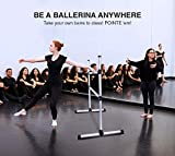 Ballet Barre Portable Double Freestanding Ballet