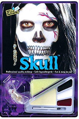 Skull Halloween Make Up Kit (Skull Makeup Kit)