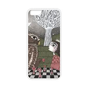 """Case for iPhone 6 4.7"""",Cover for iPhone 6,iPhone 6 case,Hard Case for iPhone 6,DIY Fairy Wonderland,Escape Into The Fancy world Design PC and TPU Screen Protector Hard Case for Apple iPhone 6 4.7"""" by mcsharks"""