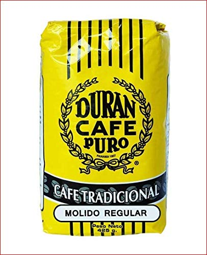 - Panama Café Duran Cafe de Altura Molido Regular Best Ground Coffee 15oz. Package Panama's Highest Quality Highland Coffee (Chiriqui Mountains)