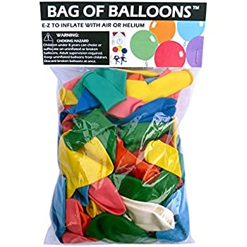 Bag of Balloons - 72 ct. Assorted Color Latex Balloons