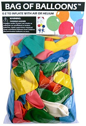 Bag of Balloons - 72 ct. Assorted Color Latex Balloons]()