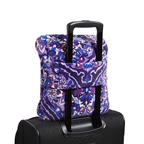 51i24ANK9%2BL - Vera Bradley Plush Travel Blanket, Fleece, Regal Rosette