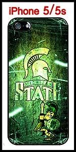 Michigan State University Michigan Spartans iphone 6 plus Case Hard Silicone Case