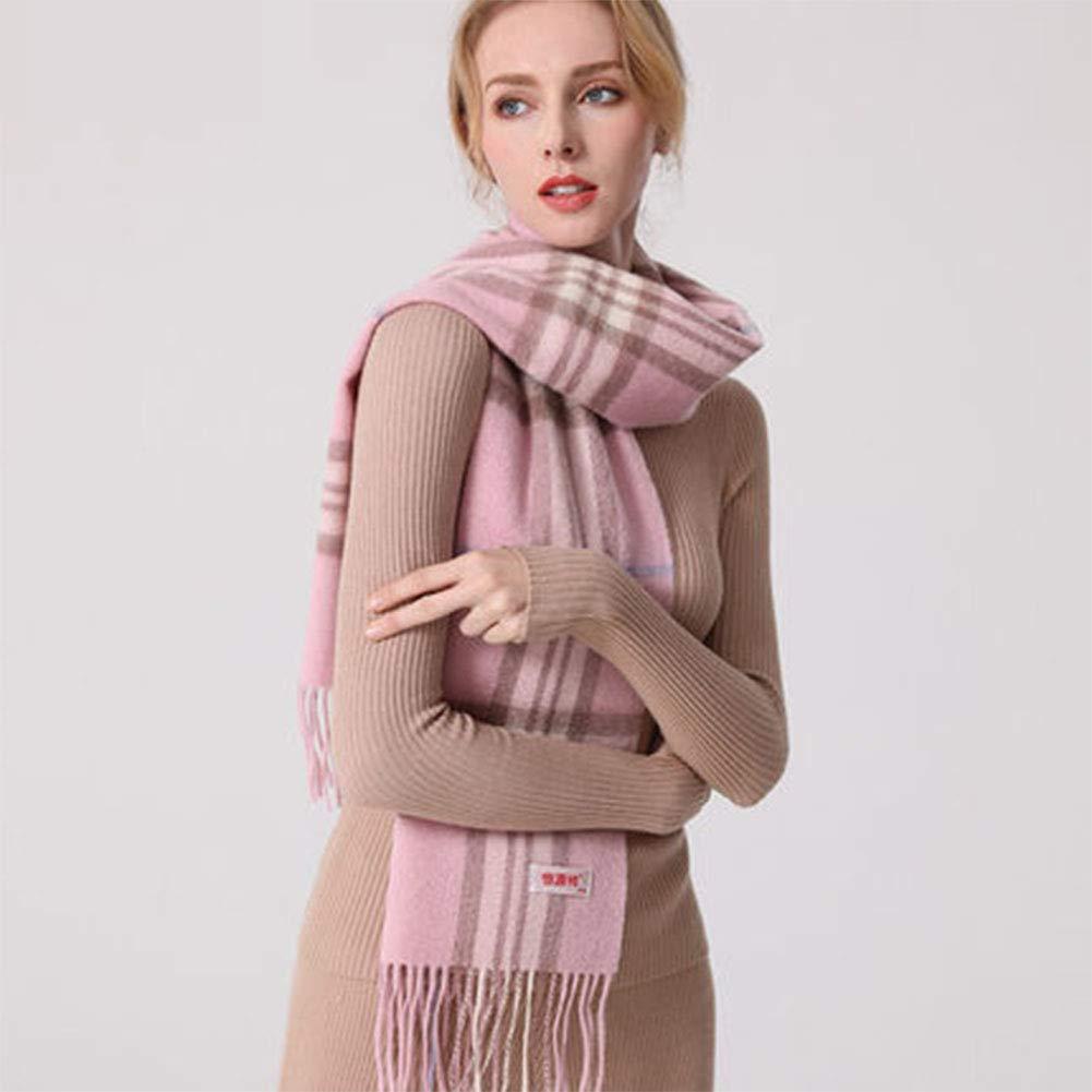 1 Wool Scarf Female Wild Cute Plaid Fashion Wild Scarf Warm Thickening