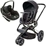 Quinny Mood Stroller WITH Prezi Carseat (Black)