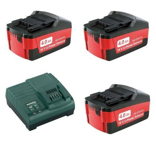 Metabo Basic-Set 4 Ah, 685049000