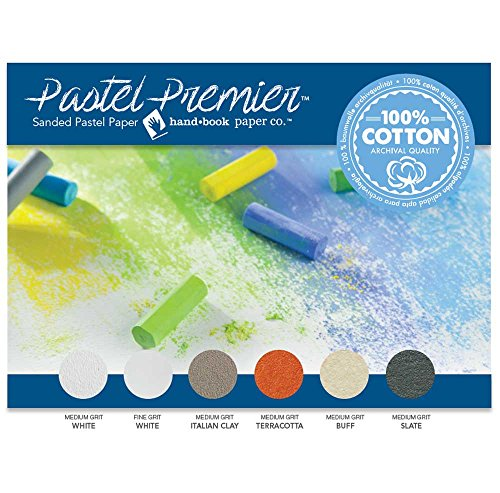 Pastel Premier Sanded Pastel Paper 12X16 Asst by Handbook Paper