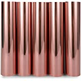 TECKWRAP Chrome Rose Gold Adhesive Craft Vinyl Sheets