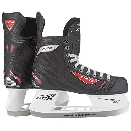 CCM RBZ 40 Senior Ice Hockey Skates (Black, 7.0D) Senior Ice Hockey Skate Blade