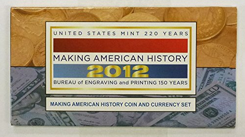 2012 S Making American History Coin and Currency Set OGP