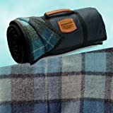 Pendleton Roll-up Picnic Blanket - Blue