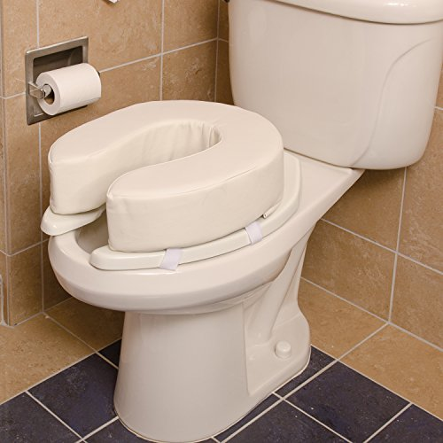 Dmi 4 Inch Vinyl Foam Toilet Seat Cushion Adds Extra