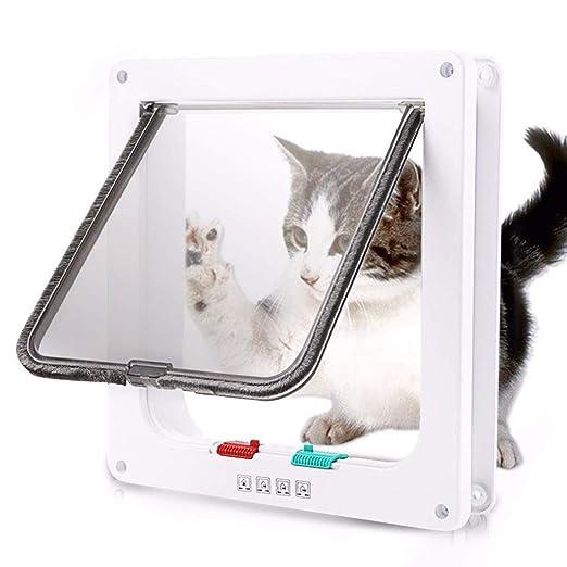 Maogoumao Puerta para Perros y Gatos Cat Flap Door Kit de ...