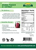 Green Valley Superfoods Organic Aronia Berry 41 Extract Chokeberry Powder 8 Ounce Discount