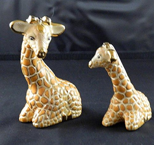 Artesania Rinconada Retired Giraffe Adult & Baby Made Uruguay