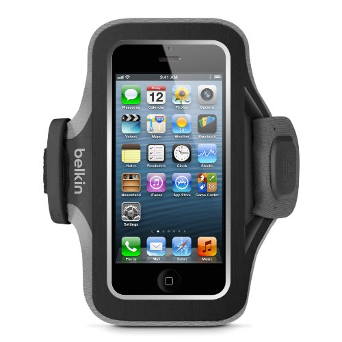 Belkin Slim Fit Armband iPhone Gravel